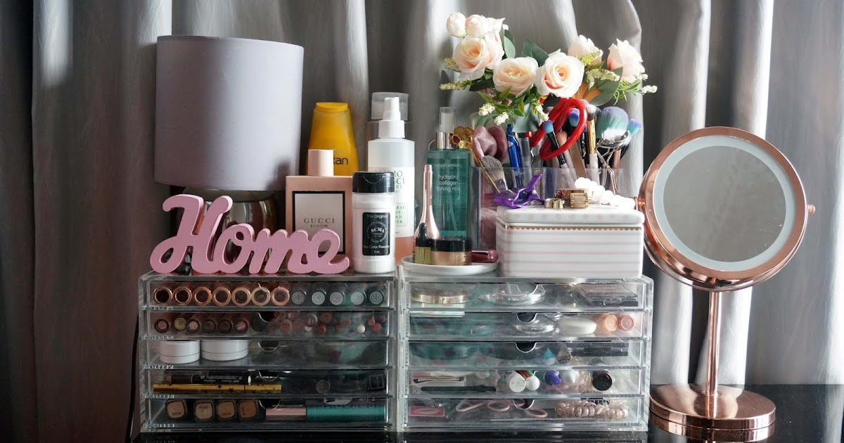 JOYCE LAU: MAKEUP COLLECTION AND STORAGE