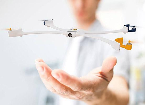 নিক্সি ড্রোন (NIXIE Drone)