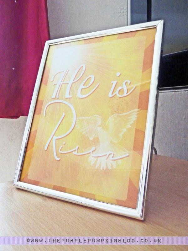 He Is Risen - #Easter Poster #Art