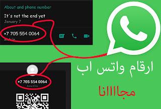 طريقة الحصول على ارقام اجنبية لتفعيل الواتس اب مجانا 2020