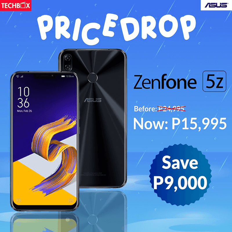Sale Alert: Techbox dropped ASUS ZenFone 5Z's price to PHP 15,995!