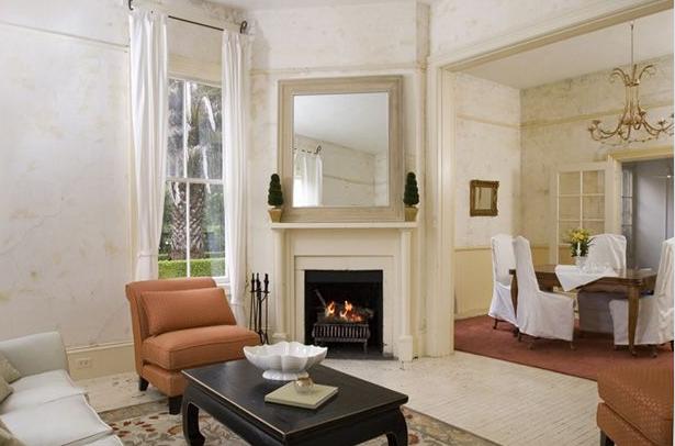 vignette design: The Historical Pratt Mansion