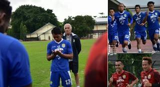 Persib Bandung Gelar Dua Pertandingan Uji Coba di TC Yogyakarta