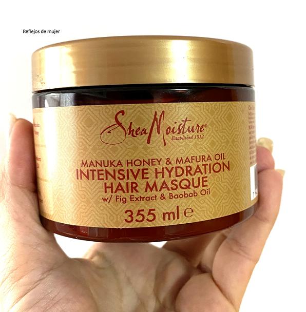 Mascarilla Shea Moisture Manuka Honey & Mafura Oil