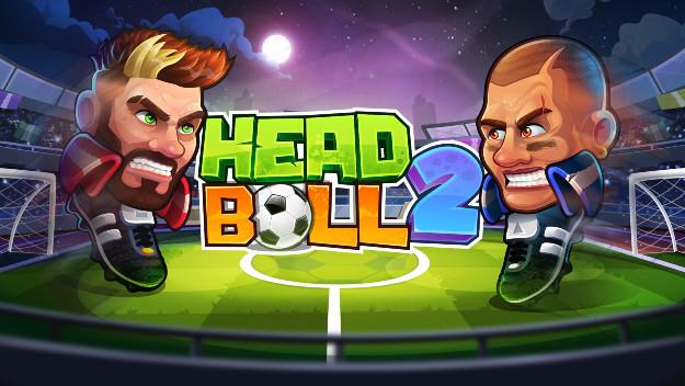 παιχνίδι ποδοσφαίρου για κινητά με κεφάλια και τέρματα