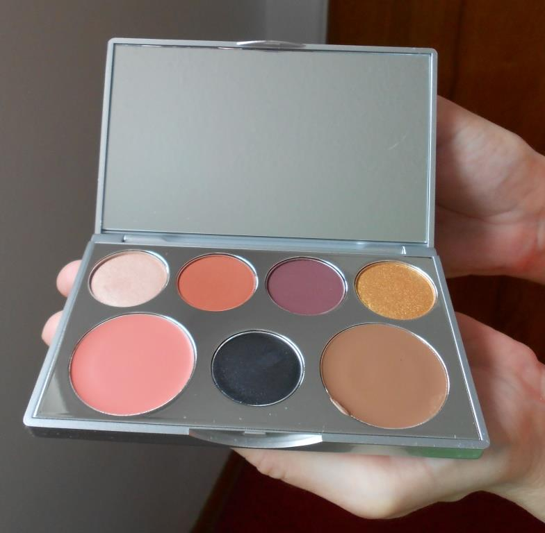 PUR Cosmetics Transformation Sculpting Eye Shadow and Cheek Palette