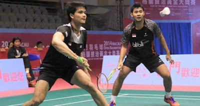 Ricky/Angga Lolos ke Final New Zealand Open