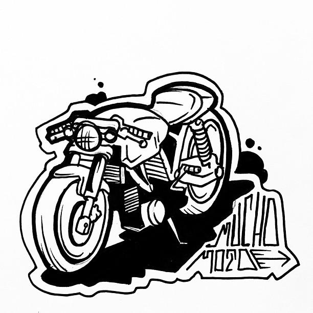 mucho moto rocketgarage cafe racer magazine BMW Cafe Racer