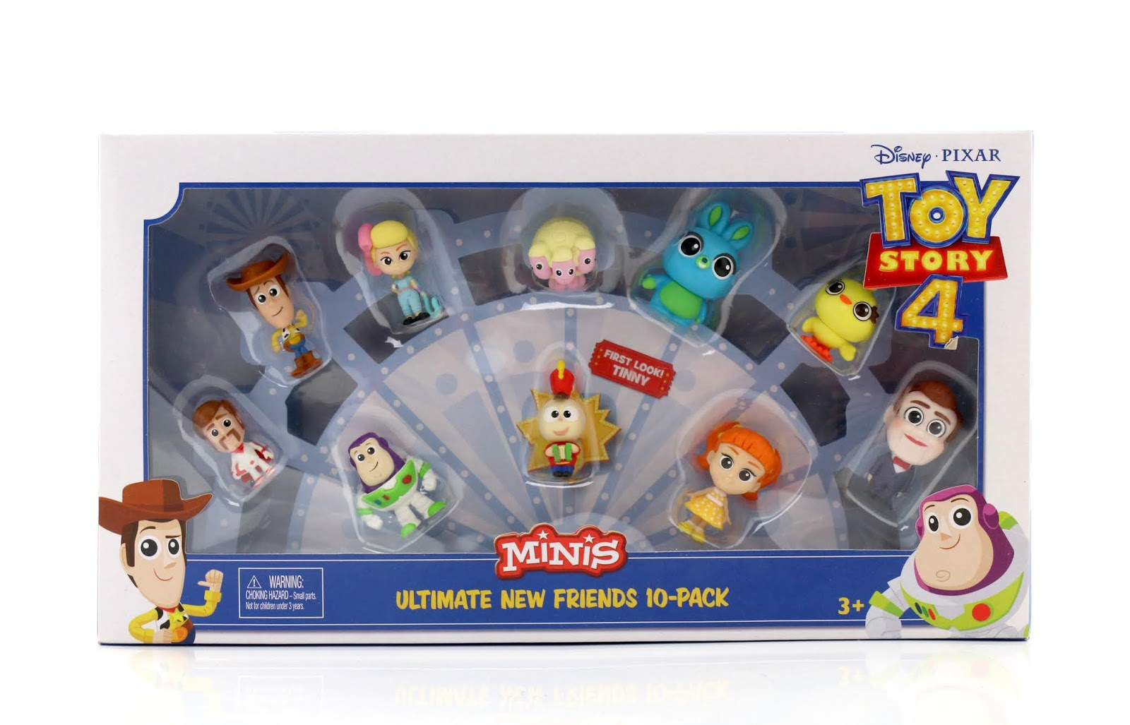 "Toy Story 4  ""Minis"" Ultimate New Friends 10-Pack"