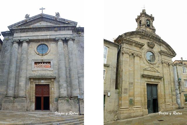 Capilla de las ánimas y Santa María del Camino de Santiago de Compostela