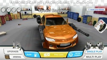 Game Armored Car HD ( Racing Game )