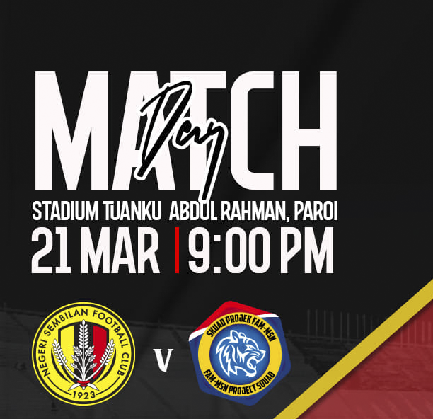 Live Streaming Negeri Sembilan vs Projek FAM-MSN Liga Perdana 21.3.2021