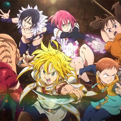 Nanatsu no Taizai: Tenku no Torawarebito muestra nuevo tráiler con personajes