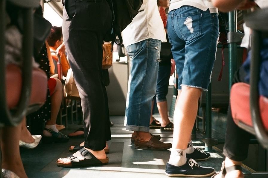 Podróż autobusem z dzieckiem