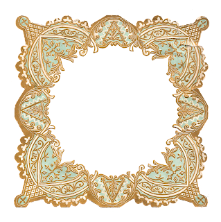 border frame image craft supply digital download