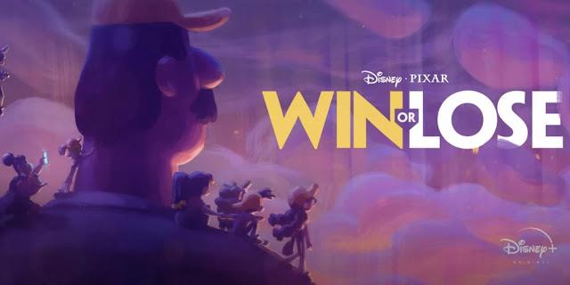 Pixar Series Win or Lose Logo