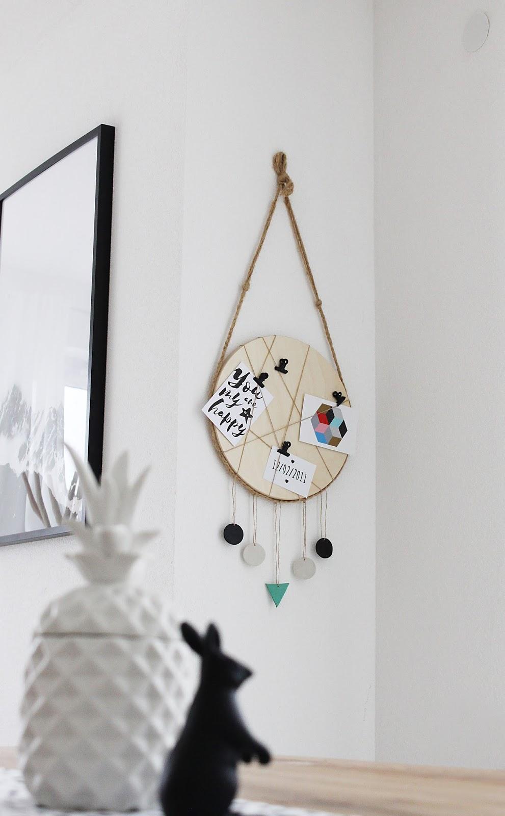 einfaches DIY: Ikea Frosta Hack vom Hocker zur stylischen Pinnwand