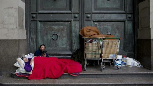 Más de 7000 personas duermen en las calles de Buenos Aires
