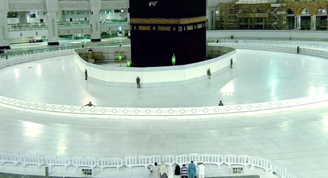 Belum Pernah Dilakukan Sejak Zaman Nabi, Saudi Tutup Ibadah Umroh Selama Satu Tahun Bagi Semua Negara