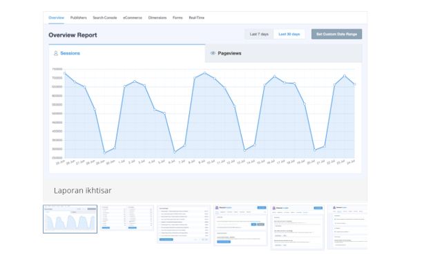 penerapan Google Analytics pada wordpress