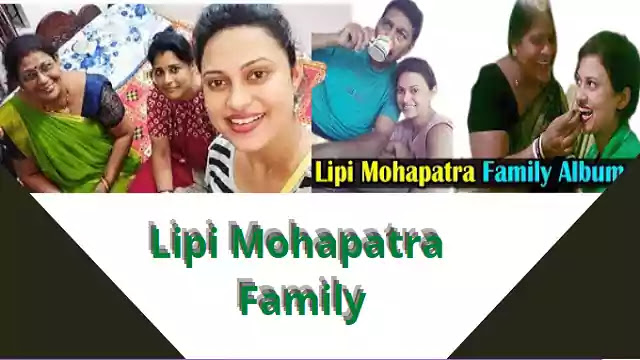 Lipi Mohapatra family photos