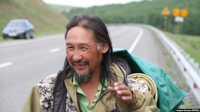 Александр Габышев, называющий себя шаманом