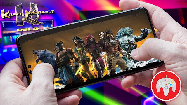 Killer Instinct Gold Para Teléfonos Android (ROM N64)