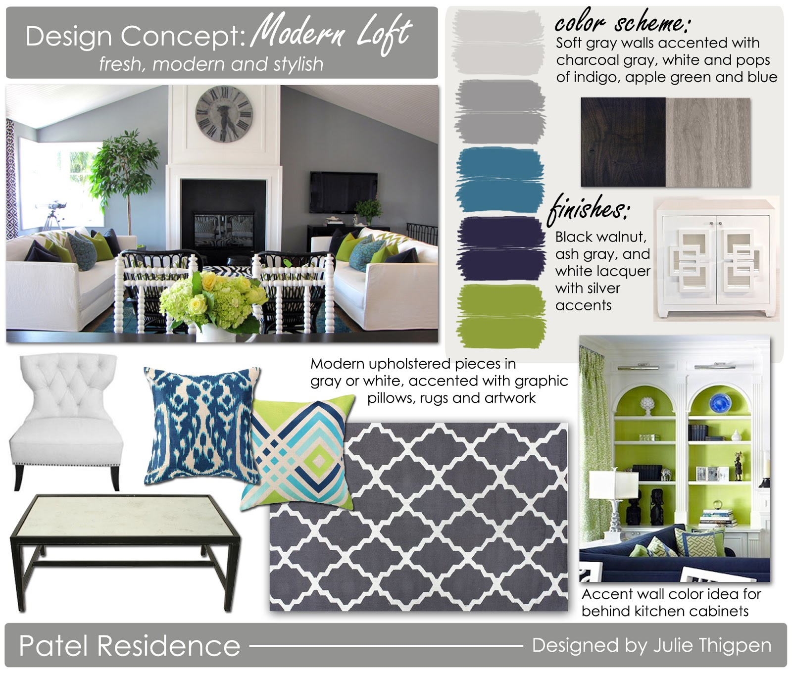 Belle Maison: New Client Project: Color Scheme Inspiration