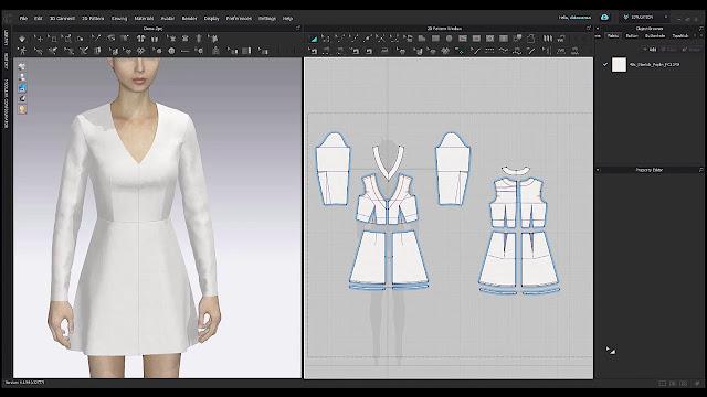 CLO 3D Fashion Design 6
