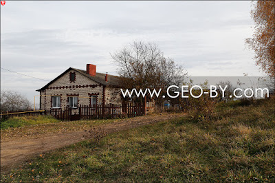 Место, где была стражница КОП 'Поморщина'