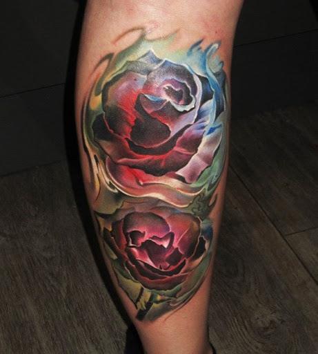 Outra variação de uma rosa, desenho de tatuagem, então você pode ter uma ampla seleção de como você pode dar uma história de amor e paixão.