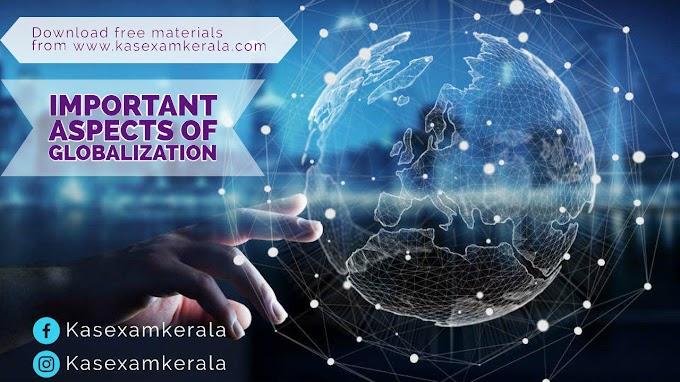 Important Aspects of Globalization  KAS Kerala   Free download PDF