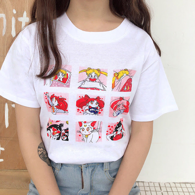 Kawaii Shirts You Need In Your Life! - sailor moon shirt