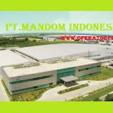 Info Loker PT Mandom Indonesia Tbk - OPERATOR PRODUKSI