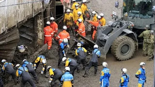 Japan authorities continue rescue operation, 24 people still missing in Atami mudslide