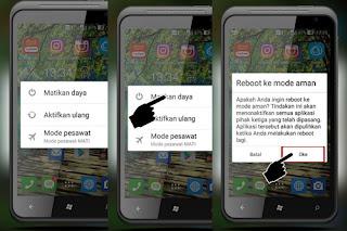 Cara Mudah Masuk Safe Mode di Hp Android