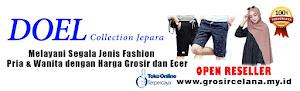 Doel Collection Jepara | Distributor Sentra Celana Kolor & Hijab