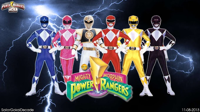 Power Rangers Mighty Morphin (Power Ranger Pertama) Generasi 90 Merapat!