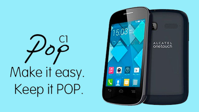 rom stock Alcatel OT POP C1 4016a