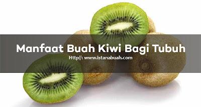 Manfaat dan Khasiat Buah Kiwi