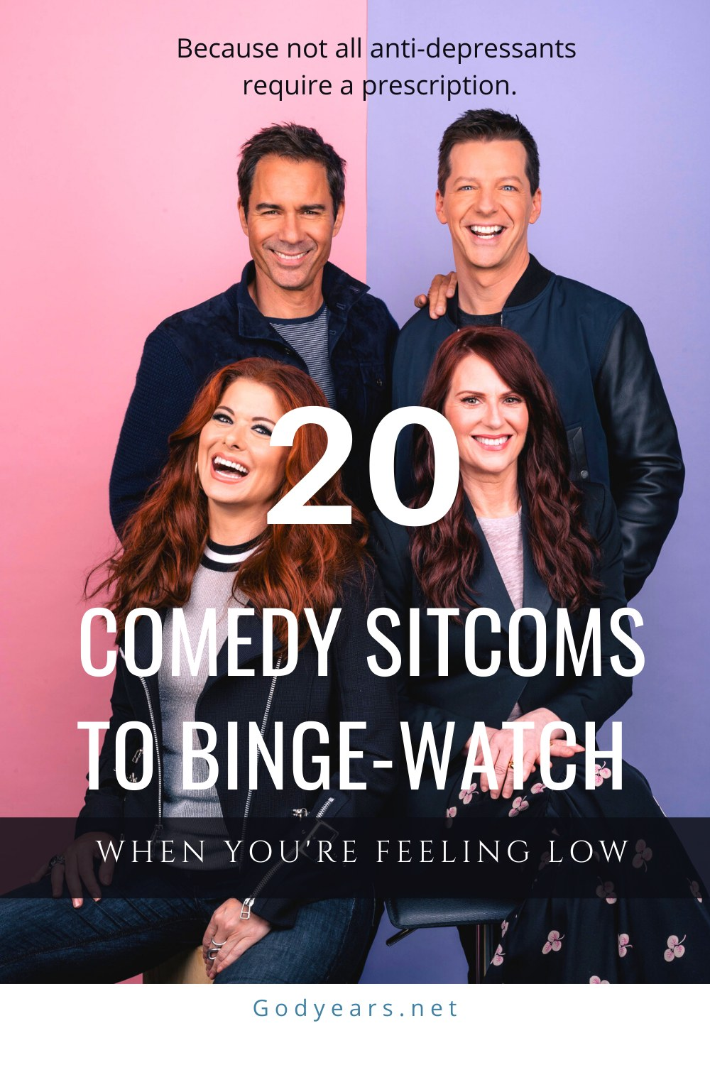 A List of 20 Comedy Sitcoms to Binge Watch when you are feeling low