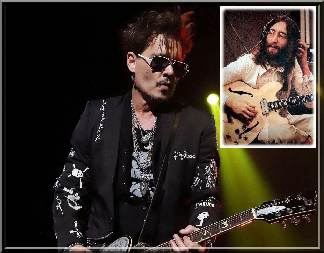 جوني ديب ينضم إلى إنستجرام ويصدر غلاف أغنية جون لينون - سينما نيوز