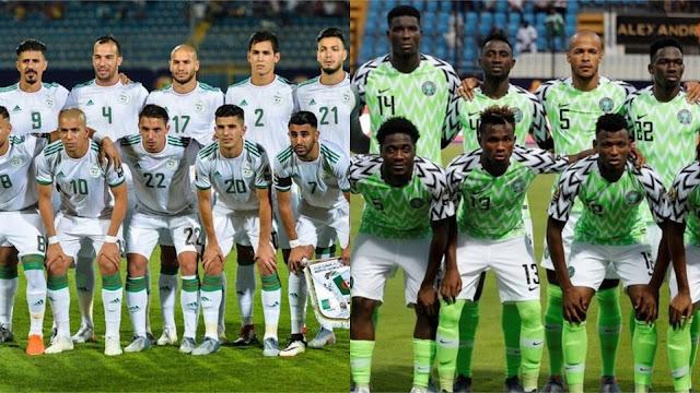 نتيجة مباراة الجزائر ونيجيريا اليوم  14/07/2019 نصف نهائي كأس الأمم الأفريقية