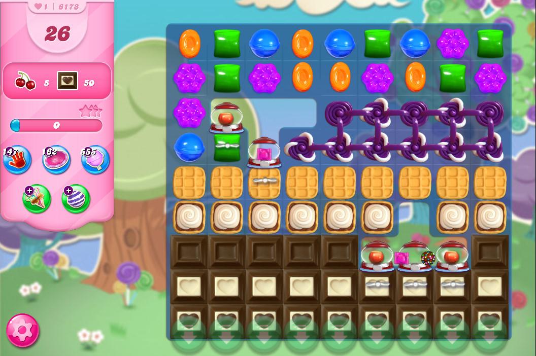 Candy Crush Saga level 6173