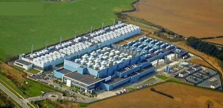 Microsoft data center in Dublin, Ireland