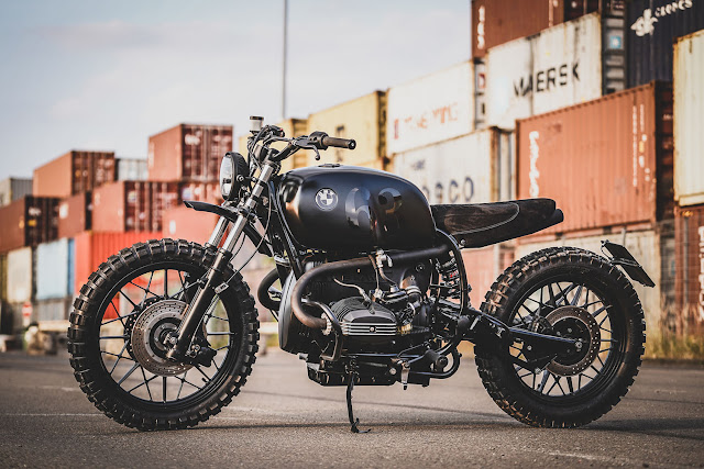 BMW R100RS By Kingston Hell Kustom