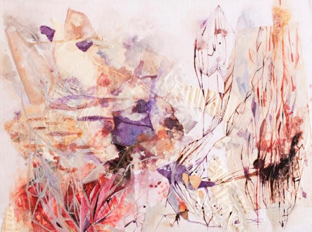 Наивные рисунки акварелью. Estela Cuadro 7