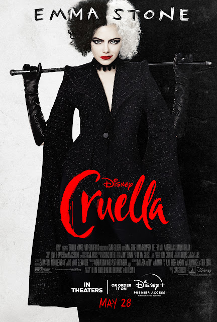 Disney, 邪惡大計現身 迪士尼黑白魔后(Cruella)最新海報及預告片(2021年4月)