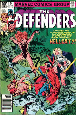 The Defenders #94, Hellcat