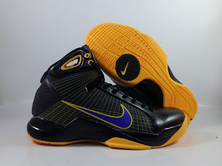 Nike Hyperdunk 2008 LA Laker Away Black Yellow
